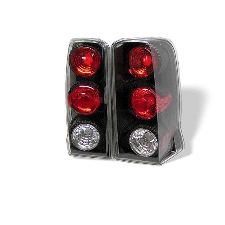 pair euro altezza tail lights lamps cadillac escalade suv 2002 2006 no. Black Bedroom Furniture Sets. Home Design Ideas