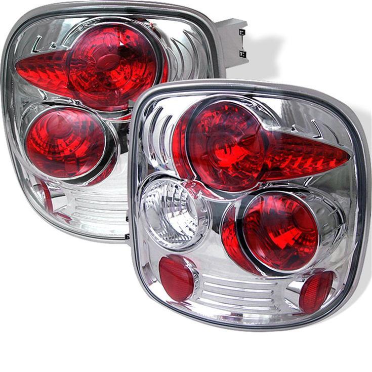 Pair Chrome Altezza Tail Lights Chevy Silverado 1500