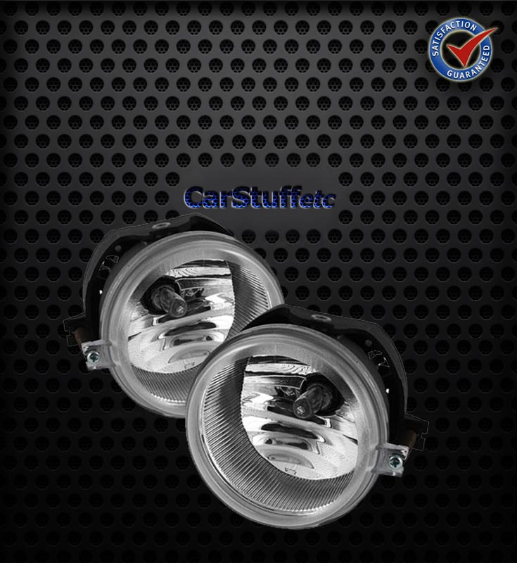 Pair Clear Fog Lights Dodge Charger 06