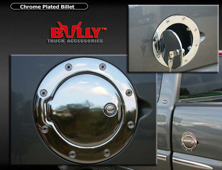 Chrome Locking Gas Fuel Door 2004 Ford F 150 Heritage Ebay
