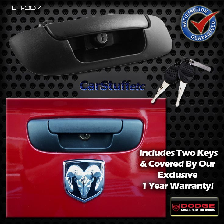 Bully Lh 007 Tailgate Tail Gate Lock Handle 02 08 Dodge