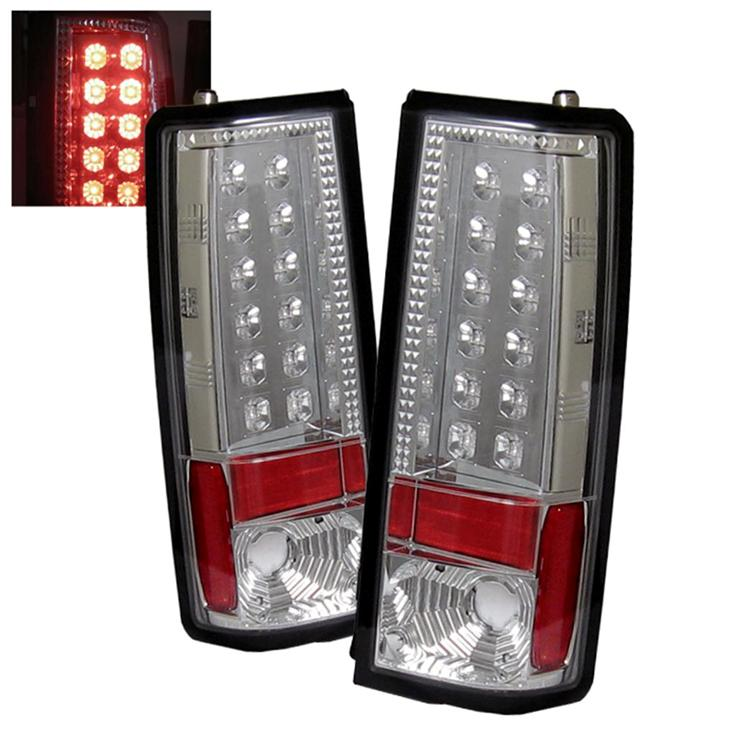 Tail Lights Chevy Astro GMC Safari 1985 2005 LED Chrome